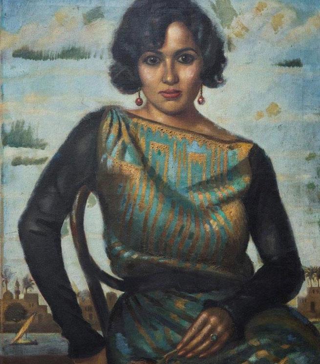 Portrait-de-Madame-Batanouni-Bey